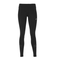 Asics Women's Silver Icon Running Tights - Black Photo