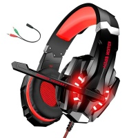 3.5mm Wired Bass Stereo Noise Isolation Gaming Headphones With Mic Photo