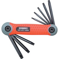 Kennedy Pro Torq Torx Folding Hand Clip Set T9 T40 8 piecese Photo