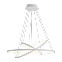 Mr Universal Lighting - Modern Aluminum circular LED Chandelier Photo