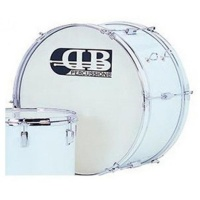 DB PERCUSSION DMB261012DI-WR 26? MARCHING BASS DRUM Photo