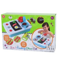 """Play Go 2"""" 1 Cooking Stove Set 27 piecese Bo Photo"""