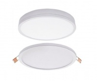 Satin or White LED Surface or Recessed Down lighter Photo