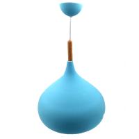 Single Blue Pendant Lamp Photo
