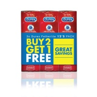 Durex Condoms - Fetherlite 12s - Buy 2 Get 1 Free Photo
