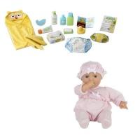 Melissa and Doug Changing & Bathtime Play Set & Doll Photo