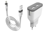 Muvit 3.4 Amp Wall Charger with LIGHTNING cable Photo