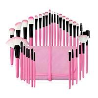 32 piecess Pink Makeup Brushes Set Makeup Tools with Bag Photo
