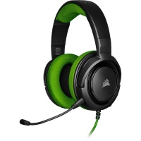 CORSAIR HS35 Stereo Gaming Headset - Green Photo
