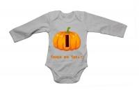 I - Halloween Pumpkin - LS - Baby Grow Photo