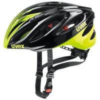 uvex Boss Race Black-Neon Yellow 52-56 Cycling Sports Helmet Photo