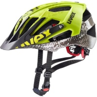 Uvex Quatro Dirt-Neon-Yellow 52-57 All-Mountain Cycling Sports Helmet Photo