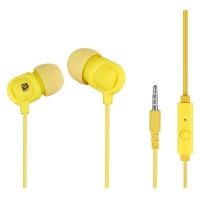 Bounce Jive Series Earphones - Yellow Photo
