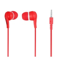 Bounce Hustle Series Earphones - Red Photo