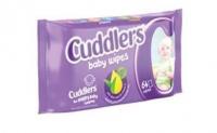 Cuddlers - Baby Wipes -16 x 64 Wipes Photo