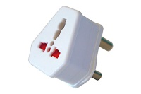 Travel Adapter for International to South Africa 3 Pin - EZJack Approve Photo