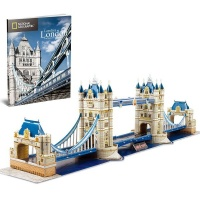 Cubic Fun National Geographic - Tower Bridge 120 piecess Photo