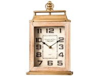 Table Clock White Face Photo