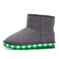 Woman LED Boots - Grey Photo