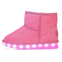 Woman LED Boots - Pink Photo