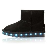 Woman LED Boots - Black Photo
