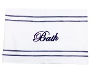 Navy Bath Mat Photo