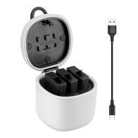 S-Cape Battery Charger with Batteries for Gopro Photo