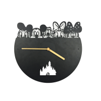 Cartoon Shape Wall Clock Photo