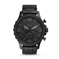 Nate chronograph black stainless steel watch- JR1401 Photo