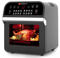 Milex - Digital Hurricane Power AirFryer Oven with Rotisserie 12L Photo