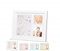 Timeless Newborn Baby Hand and Footprint Kit and Frame Photo