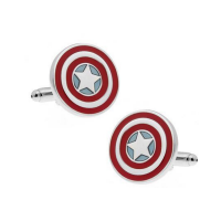 Captain America Cufflinks Photo