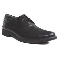 Sledgers Men Joke Shoe- Black Leather Photo