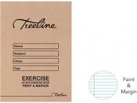 Treeline A5 Exercise Books 48 pg Feint & Margin Photo