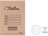 Treeline A5 Exercise Books 72 pg Feint & Margin Photo