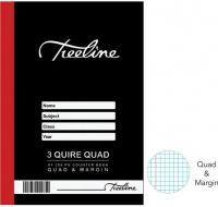 Treeline Hard Cover Counter Books 3 Quire A4 288 pg- Q&M Photo