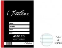 Treeline Manuscript Books A5 96 pg Feint & Margin Photo