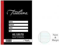 Treeline Manuscript Books A5 128 pg Feint & Margin Photo