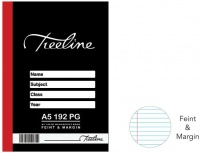 Treeline Manuscript Books A5 192 pg Feint & Margin Photo