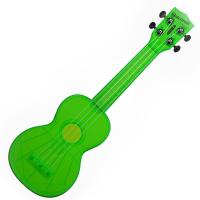 Kala SWFGN Waterman Soprano Ukulele - Fluorescent Green Photo