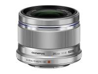 Olympus M.Zuiko Digital 25mm F1.8 incl Lens hood / ES-M2518 silver Photo