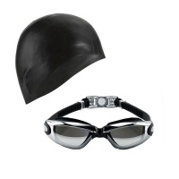 Goggles & Cap Reflective Black Photo