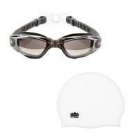Goggles & Cap Reflective Grey Photo