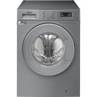 WHTS1114LSSA - Smeg Freestanding 60cm Washing Machine - Silver - 11kg Photo