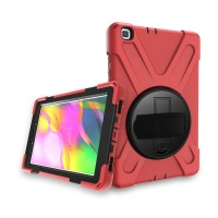 TUFF-LUV Armour Jack Case for Galaxy Tab A 8.0 T295/T290 - Red Photo