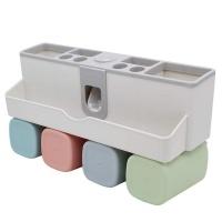 DHAO-Bathroom Multi-Function Washing Toothbrush Holder Set Photo