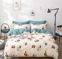 Linen Boutique - Kids Duvet Cover 3 pieces Set - Doggies Photo
