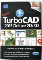 TurboCAD 2015 Deluxe 2D/3D Photo