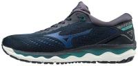 Mizuno Men's Wave Sky 3 Road Running Shoes - Navy Blazer Photo