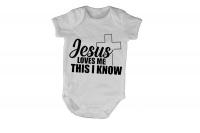 Jesus Loves Me I Know - SS - Baby Grow Photo